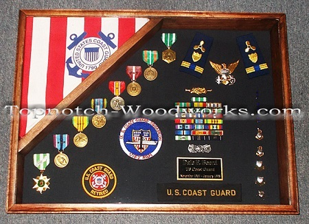 usmc retirement shadow box